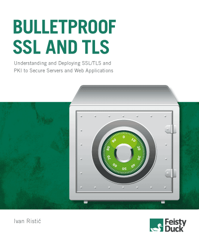 Bulletproof SSL and TLS book cover