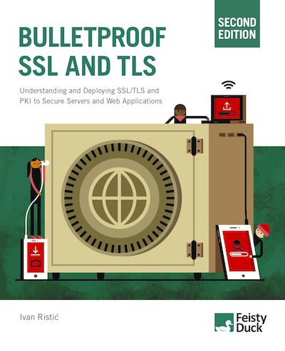 Bulletproof SSL and TLS 2ed book cover
